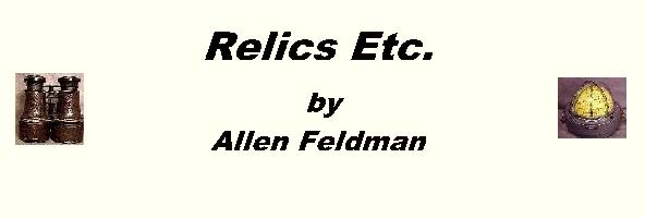 Relics Etc. Banner